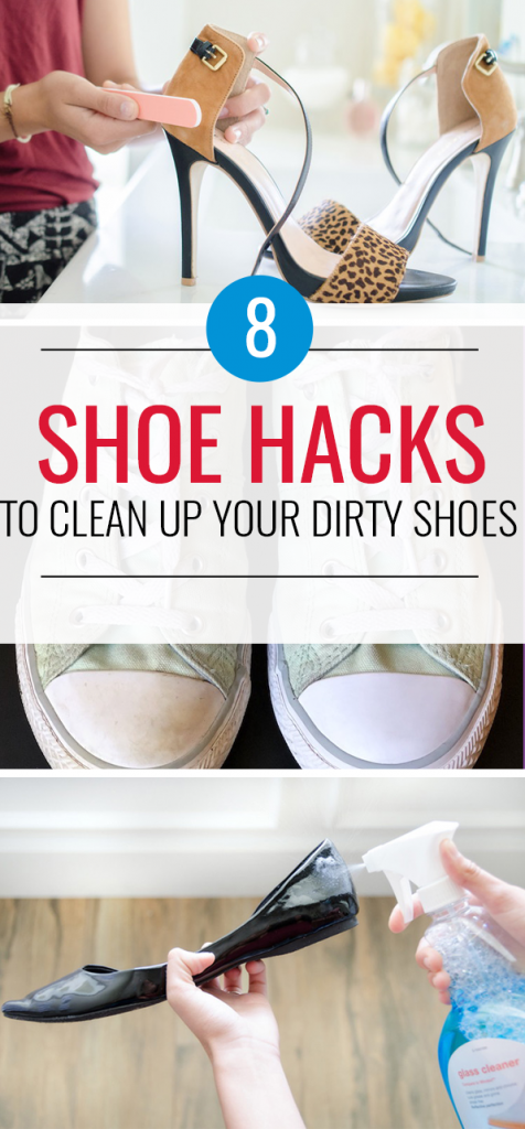 8 Quick Ways To Clean Your Shoes So They Look Like New Again