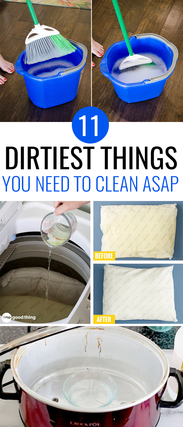 11 Dirtiest Things You Didn't Realize You Need To Clean