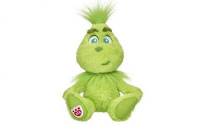 The Grinch Doll is Now At Build-A-Bear!