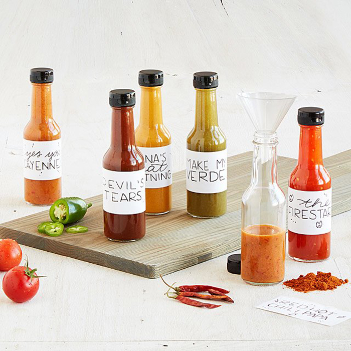 Make Your Own Hot Sauce Kit - Gift for Guys Who Love To Cook