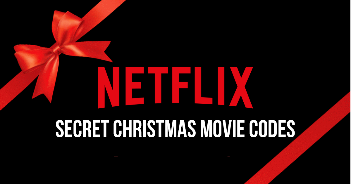 Netflix Christmas Secret Movie Codes