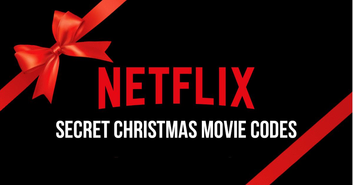 Netflix Christmas Secret Movie Codes