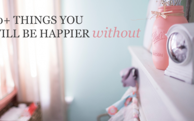 50+ Things You'll Feel Happier Without