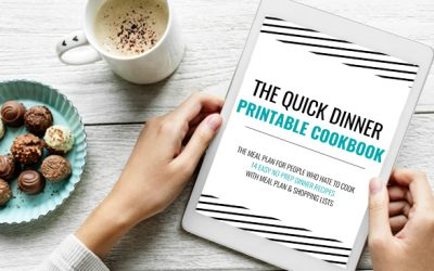 The Quick and Easy Dinner Printable Cook Book