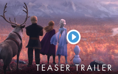 Disney Released The First Frozen 2 Trailer!