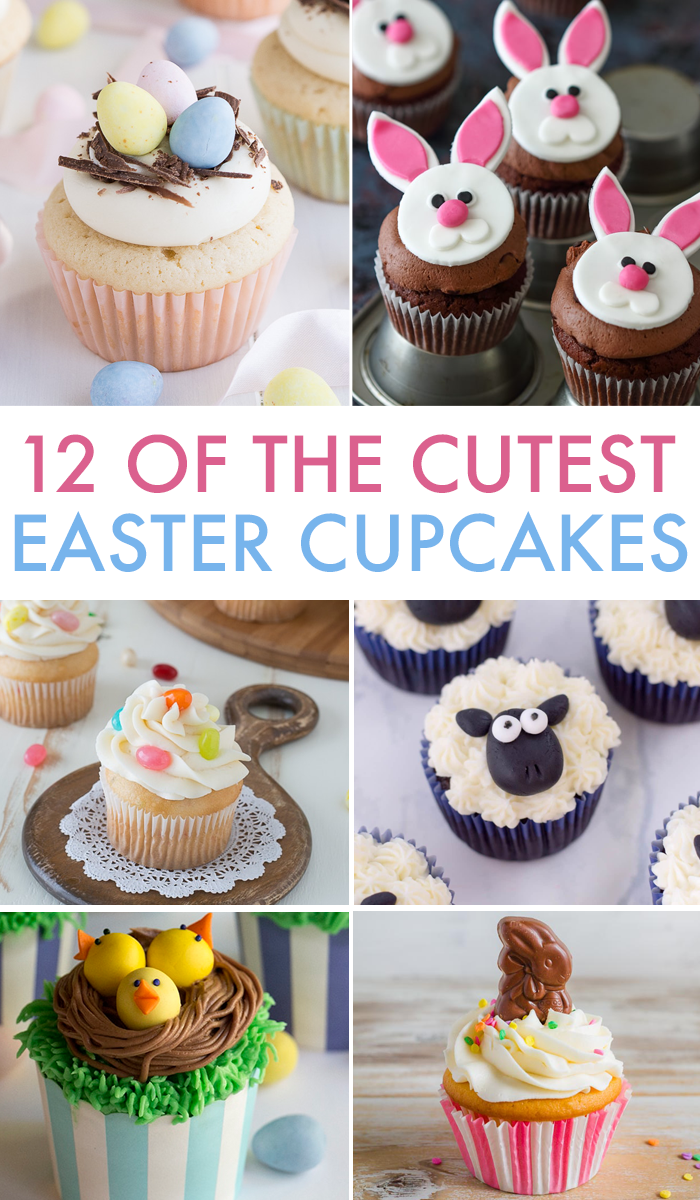Easter cupcakes are a yummy and fun holiday treat to make! | Yummy Easter recipes and treats.