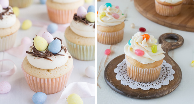 Easter cupcakes are a yummy and fun holiday treat to make!