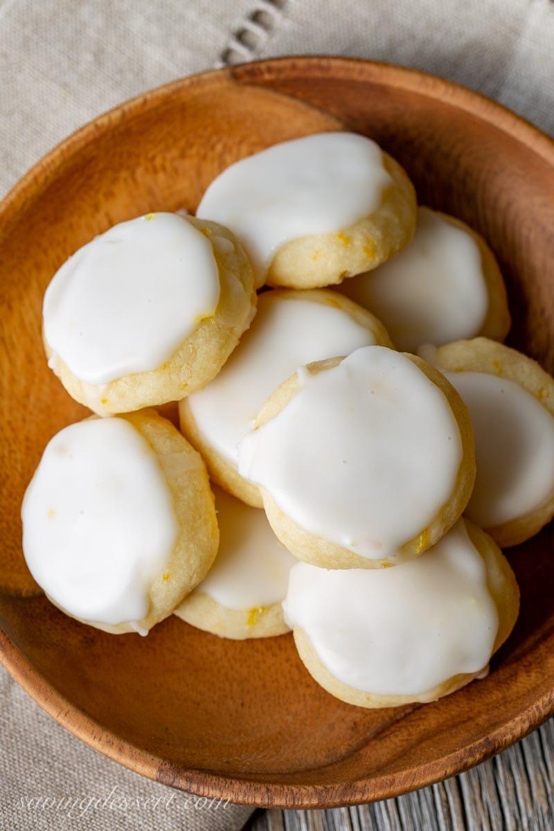 Lemon Meltways - The BEST Lemon Desserts ever.   Lemon Recipes you will love.