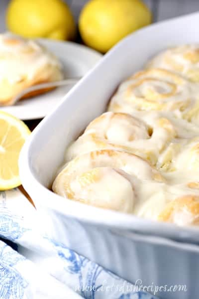 Lemon Sweet Rolls | The BEST Lemon Desserts ever. | Lemon Recipes you will love.