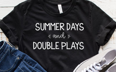Free Baseball SVG | Summer Days and Double Plays