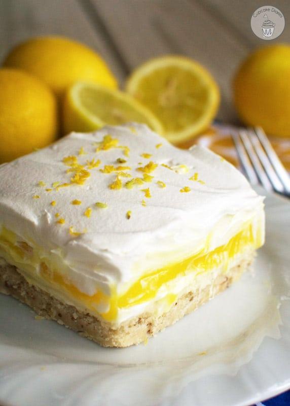 Lemon Lush   The BEST Lemon Desserts ever.   Lemon Recipes you will love.