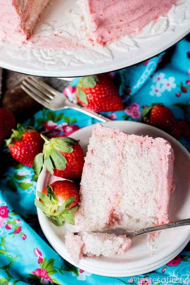 Strawberry Cake from Scratch | The BEST Strawberry Desserts Recipes