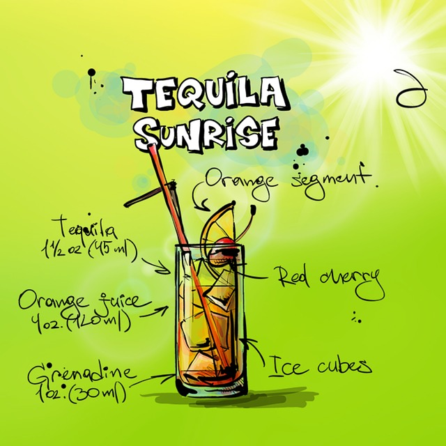 How To Make Tequila Sunrise
