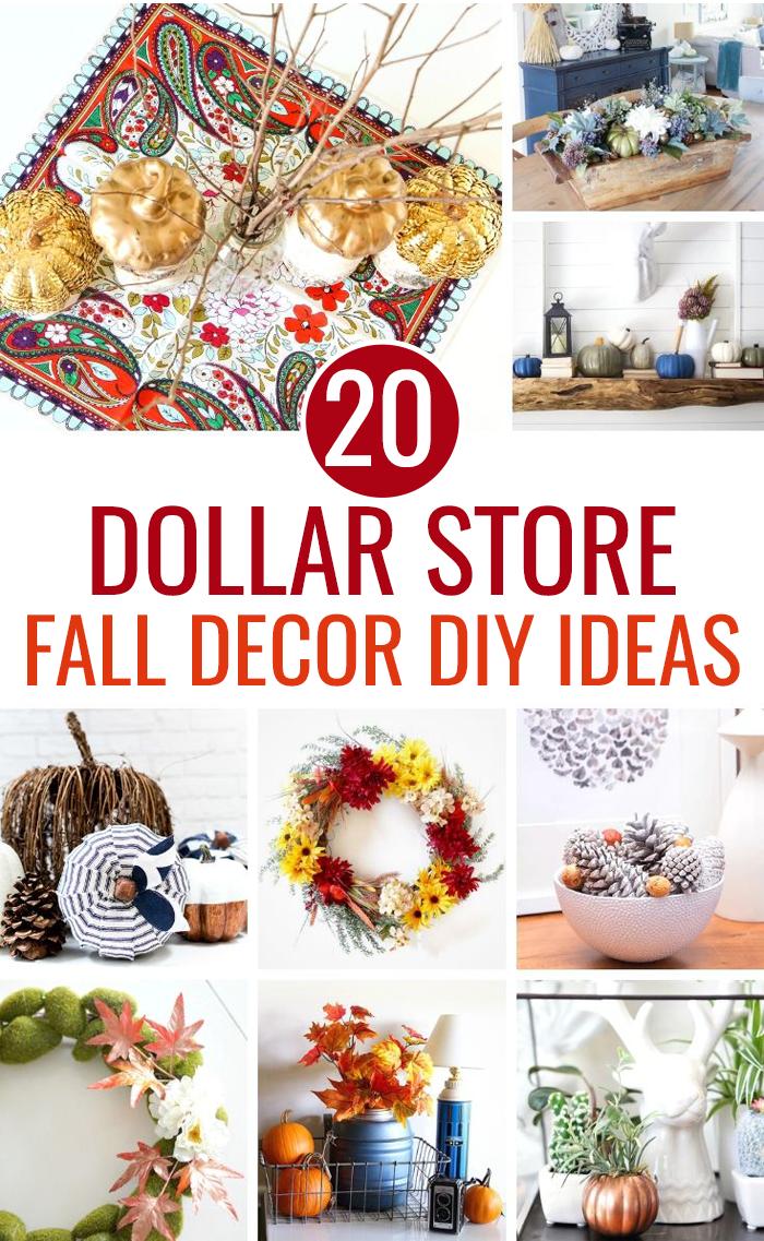 20 Dollar Tree Fall Decor Diy Ideas Love And Marriage
