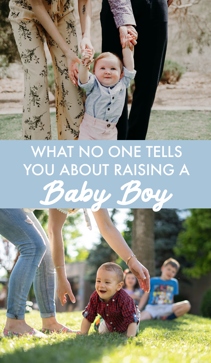 What No One Tells You About Parenting a Baby Boy