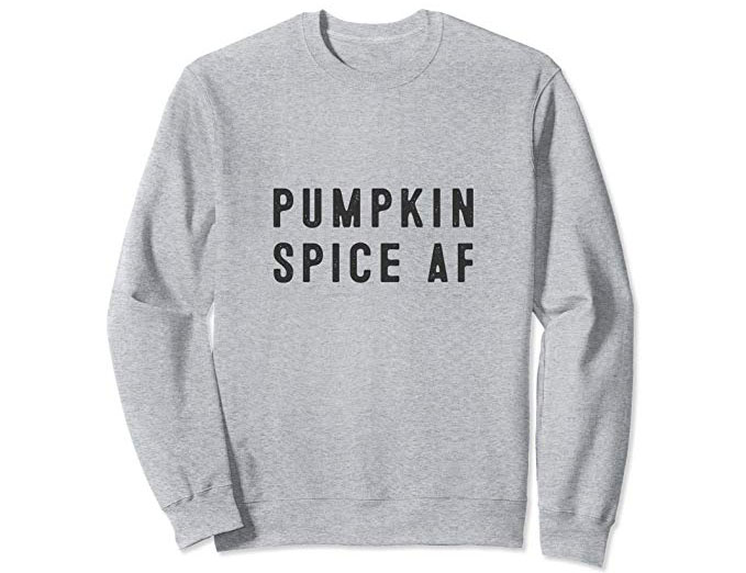 Pumpkin Spice AF - Funny Pumpkin Shirt