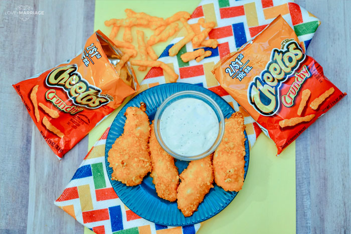 Cheetos Chicken Fingers