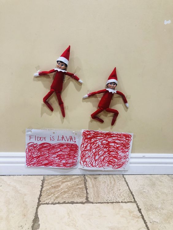 20 Funny Elf On The Shelf Ideas
