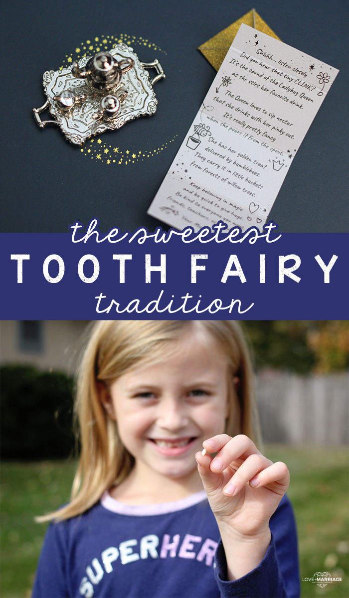 The Sweetest Tooth Fairy Tradition