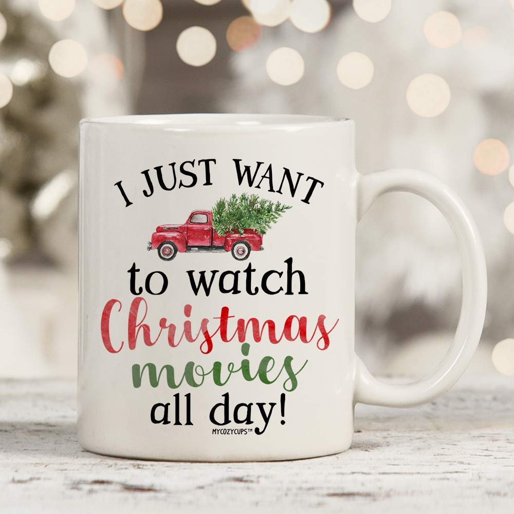 Christmas Movie Watching Mug