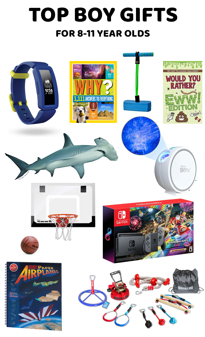Gift Guide for 8-11 Year Old Boys | Gifts for Boys