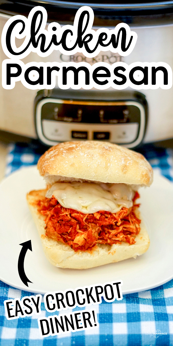Chicken Parmesan Sandwich in the Crock Pot
