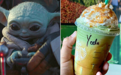 How To Order A Baby Yoda Frappuccino at Starbucks