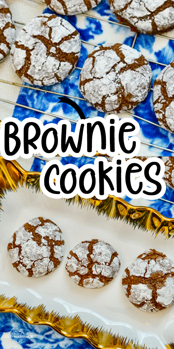 Brownie Cookies Recipe so easy, soft and chewy. Made with just 5 ingredients.