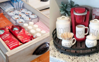 Pretty & Functional Home Coffee Stations