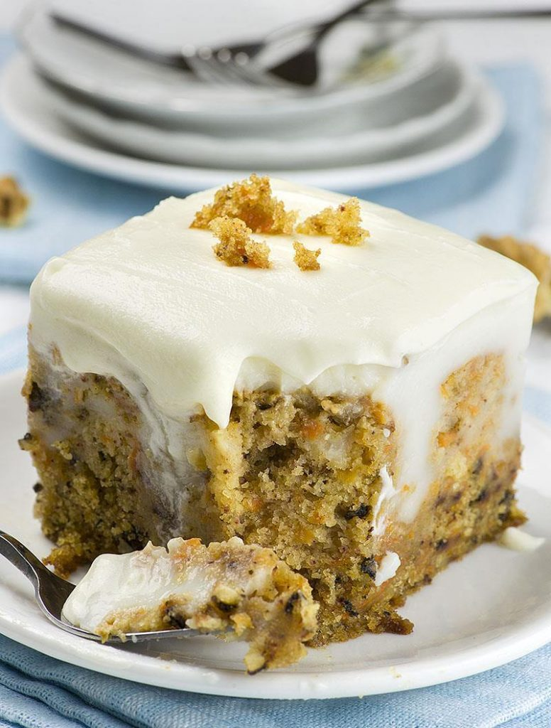 Carrot Cake Poke Cake - 20 Best Poke Cake Recipes