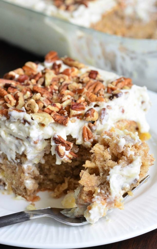 Hummingbird Poke Cake - 20 Best Poke Cake Recipes