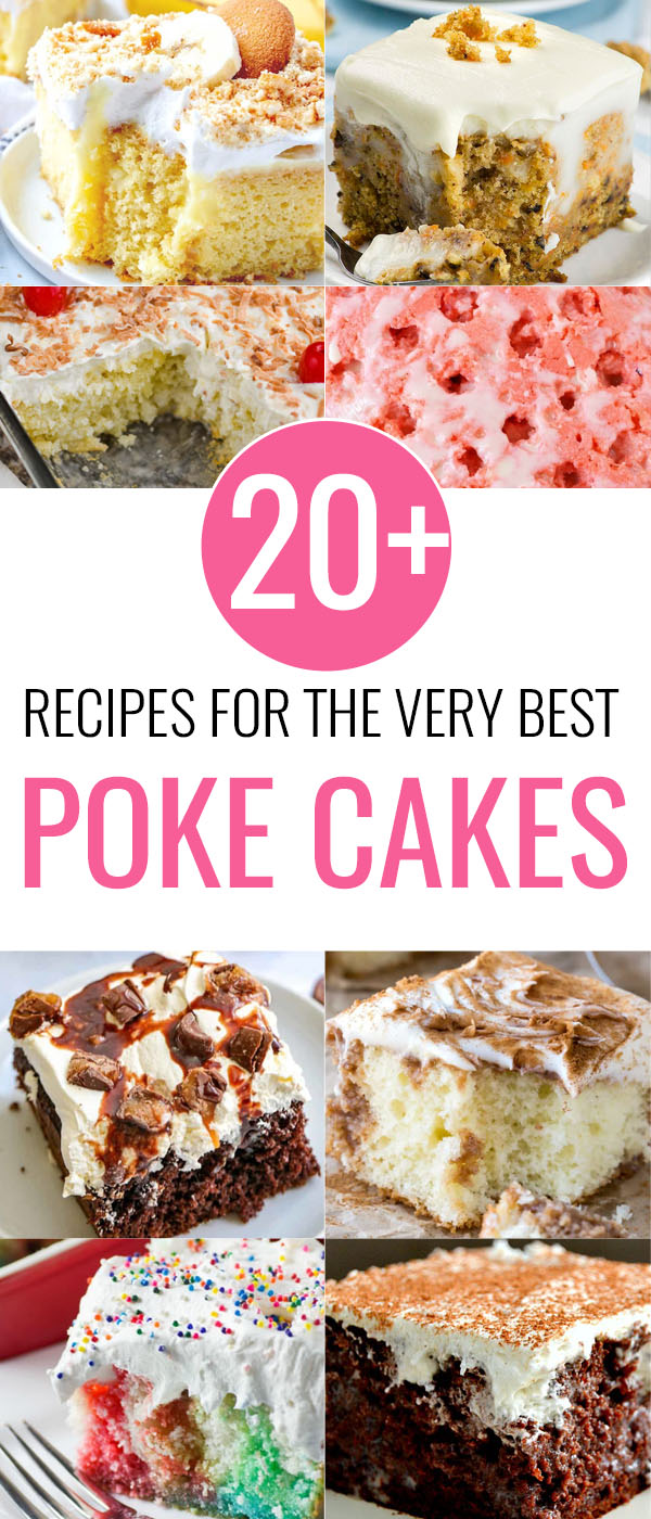 20 Best Poke Cake Recipes