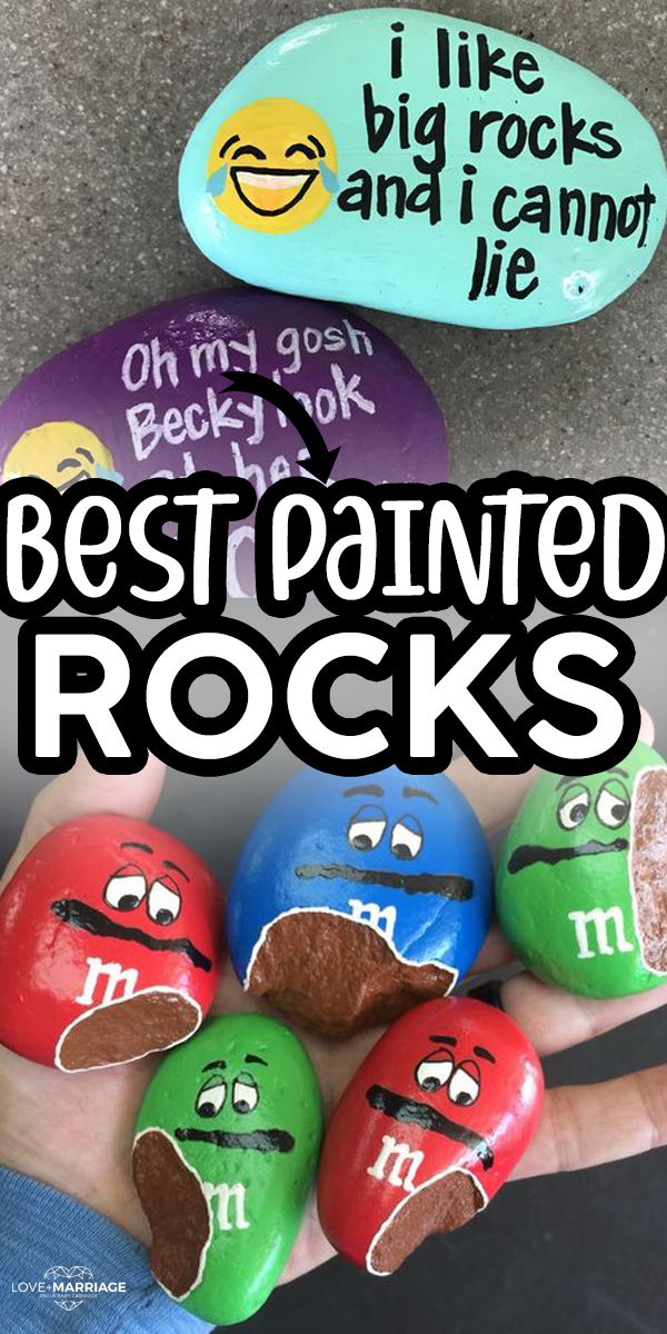 The BEST Painted Rocks Ideas