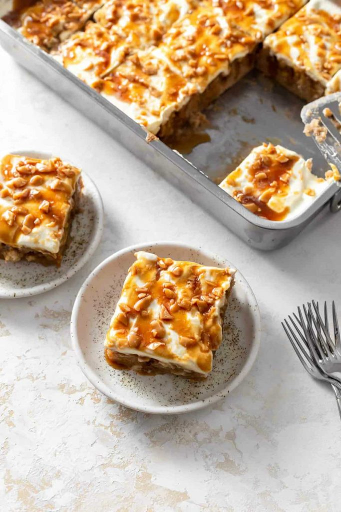 Caramel Apple Poke Cake - 20 Best Poke Cake Recipes