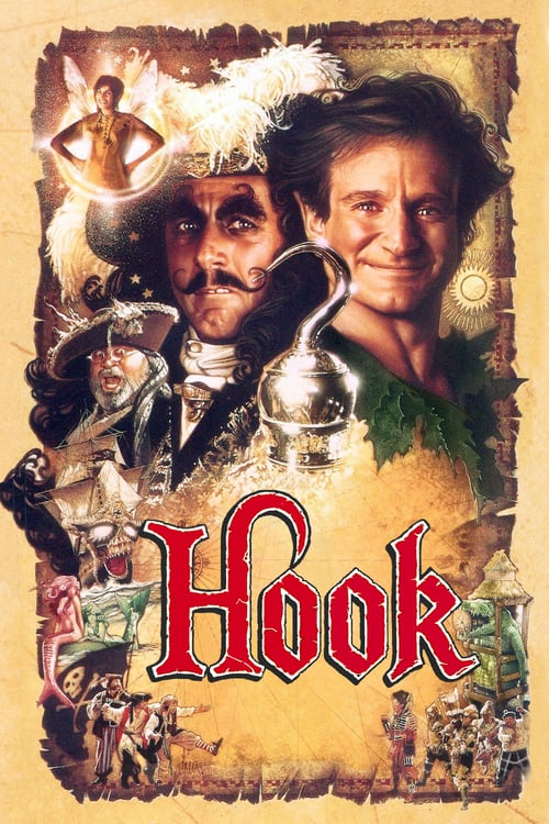 Hook - 27 Netflix Movies Based on Children's Books