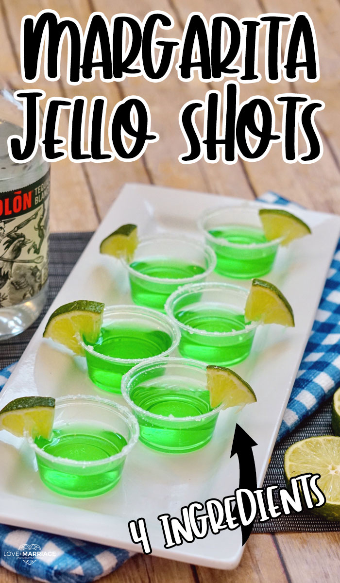 These Margarita Jello Shots are so good! They are super easy to make and need just 4 simple ingredients. If you're looking for a new summer recipe, this is it.