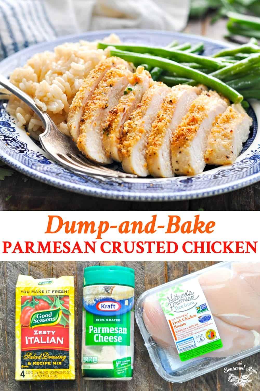 3 Ingredient Parmesan Crusted Chicken   Dinner Ideas