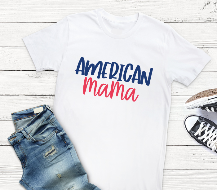 American Mama 4th of July Shirt