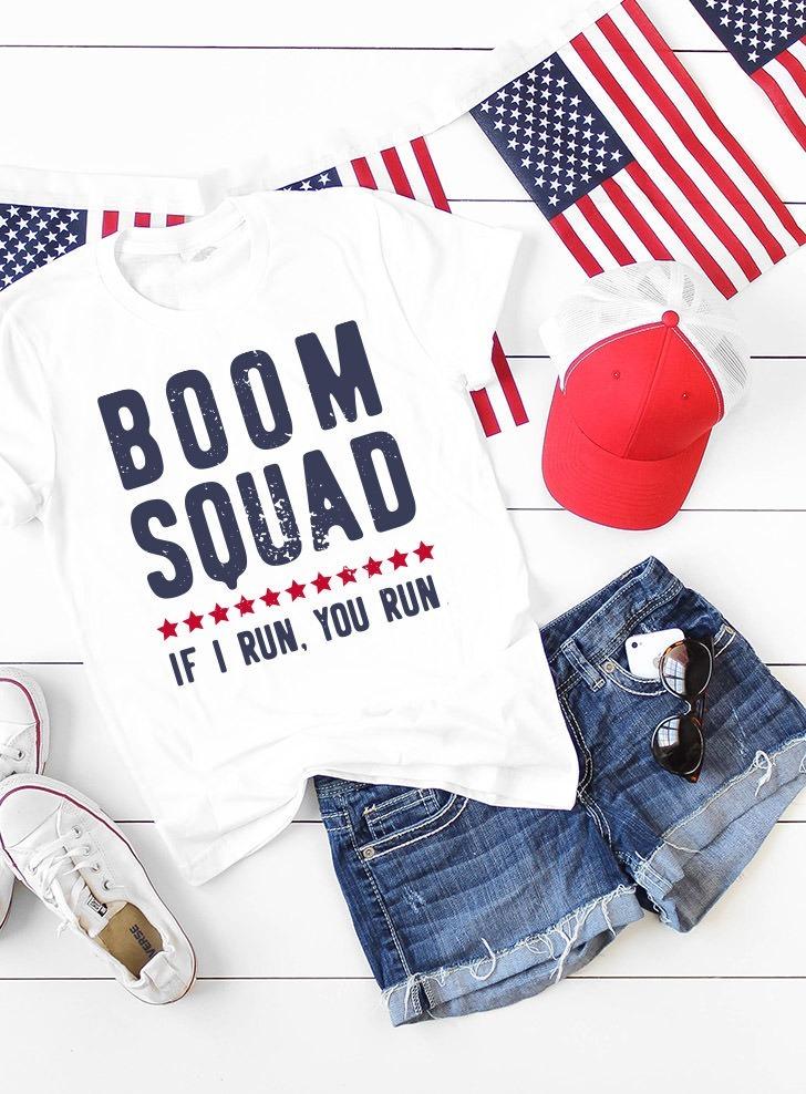 Boom Squad - 4th of July Shirt