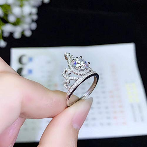 Designer crown ring