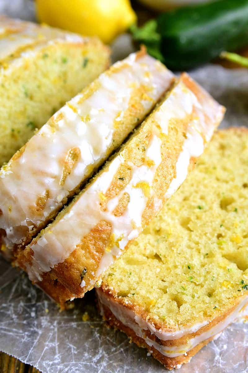 Lemon Zucchini Bread - Best Zucchini Recipes