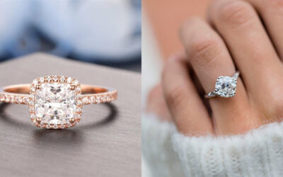 I'm Obsessed With Moissanite Engagement Rings