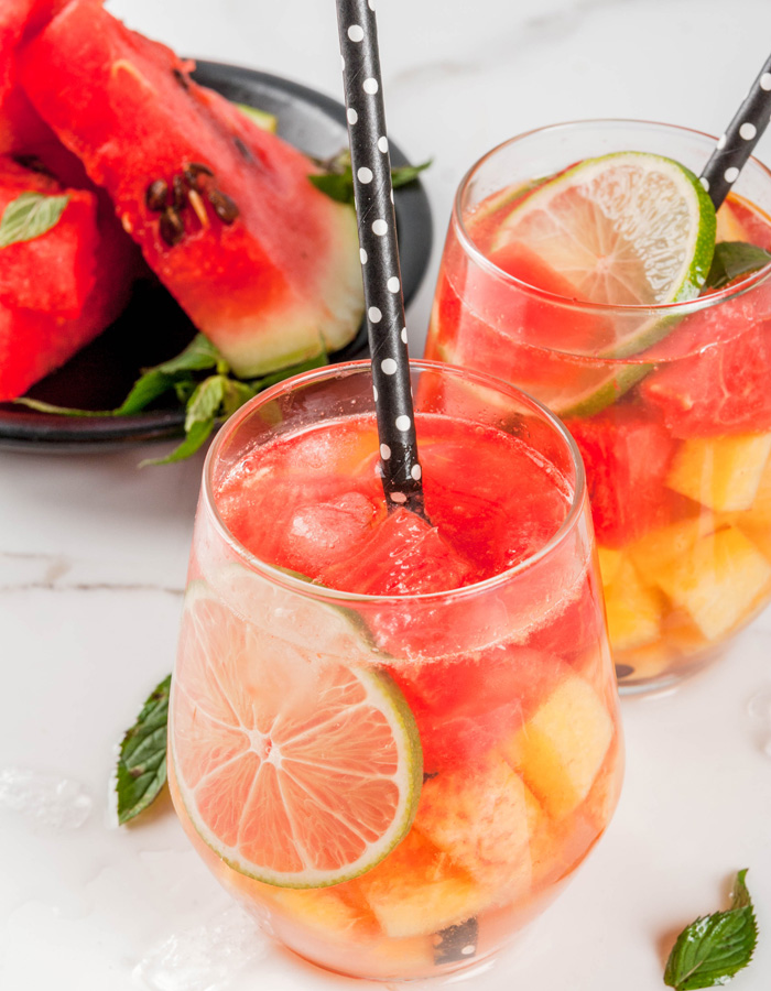 Watermelon Sangria is the summer cocktail you've been needing in your life. This refreshing drink is full of watermelon flavor and yummy white wine.