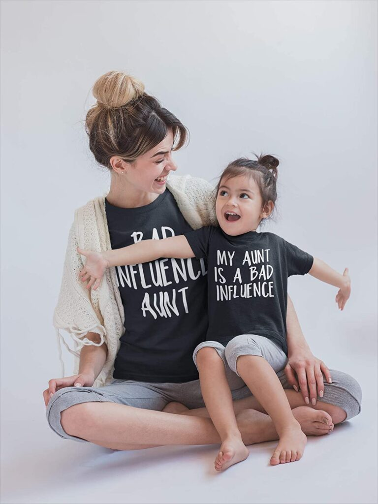 My Aunt Is A Bad Influence TShirt