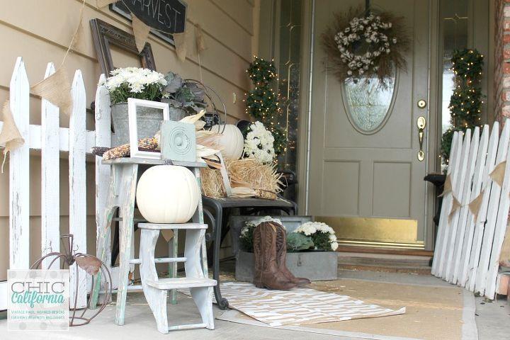 Autumn front porch neutral