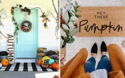 The Cutest Fall Front Porch Decor Ideas