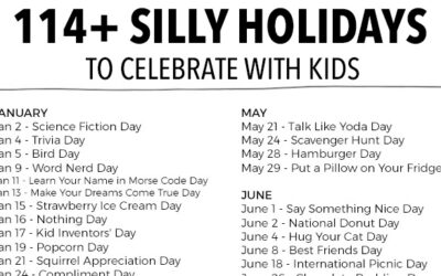 114 Silly Holidays To Celebrate