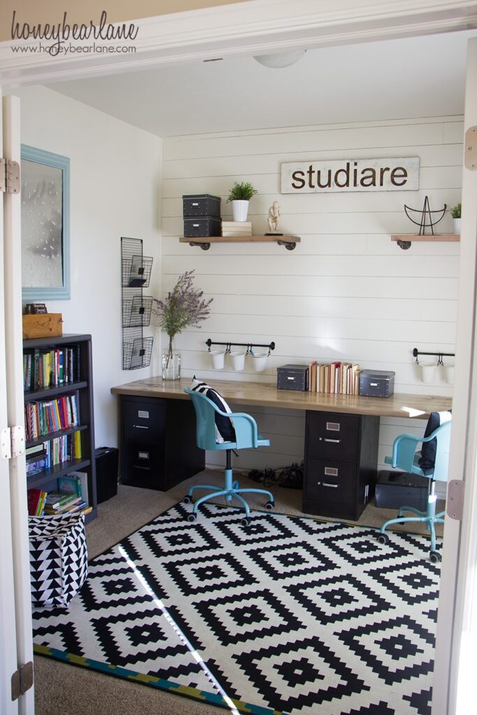 Homeschool Room Ideas - Farmhouse Style