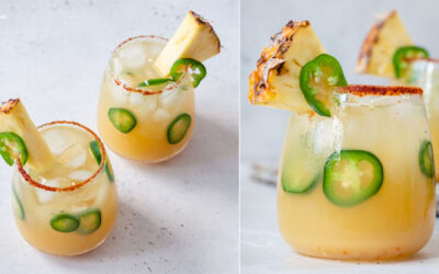 Pineapple Jalapeno Margaritas are the best blend of sweet and spicy. If you love margaritas and are looking for a new, fun way to make them, this is it.