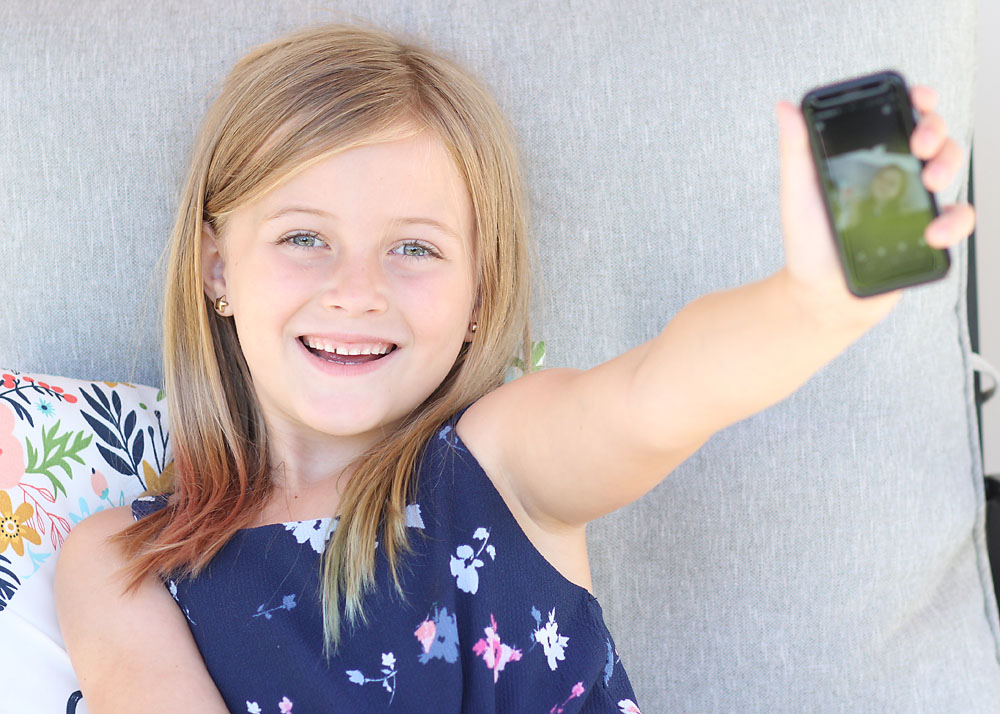 The Coolest Introductory Cell Phone for Kids - Palm Phone